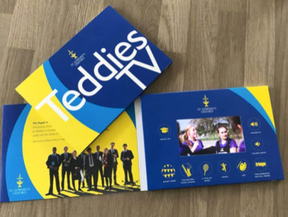 Creating a school prospectus with a difference